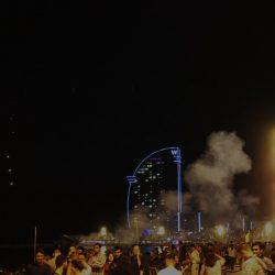 La noche de San juan Barceloneta