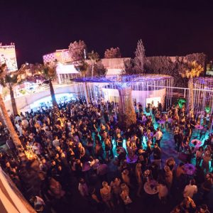 Hi Ibiza another Garden area with bars