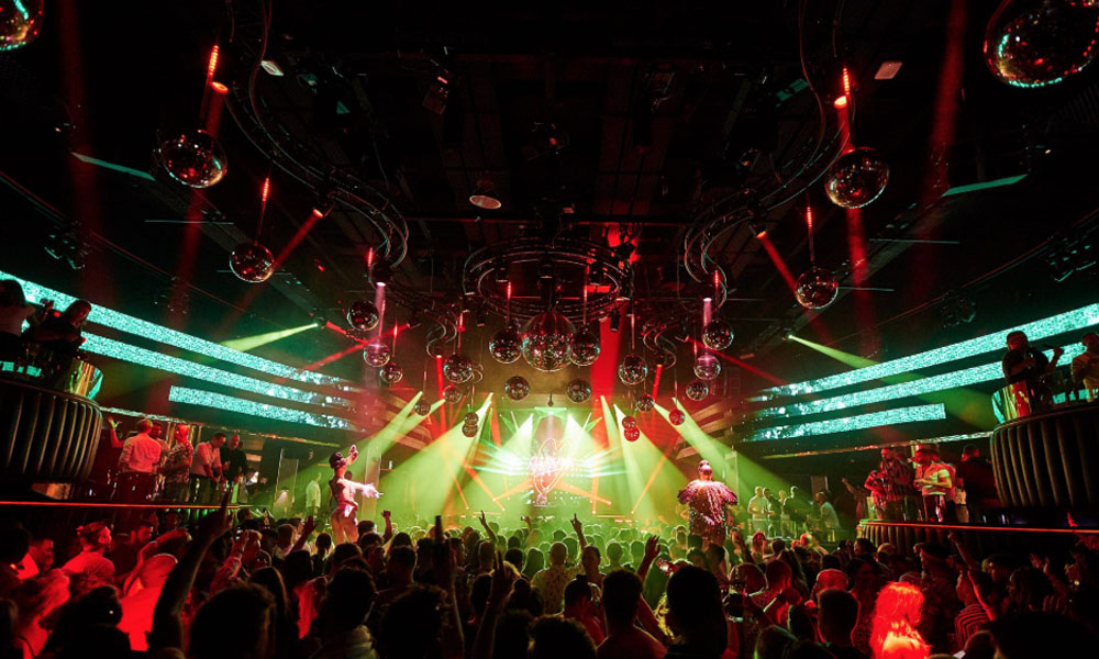 Theatre, the main room where all the big DJ Name are